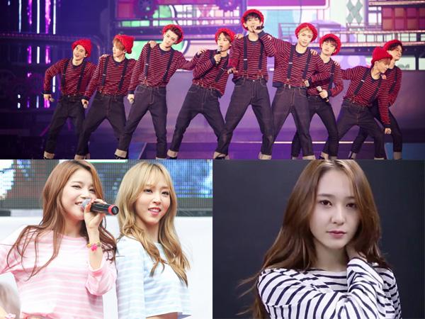 Kenalan dengan Saint James, Brand Outfit Bergaris Favorit Para Idola K-Pop