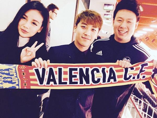 Seungri Pamer Lagu 'Fantastic Baby' Diputar di Stadion Saat Pertandingan Valencia vs Real Madrid!