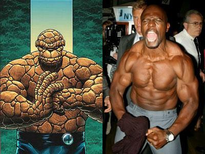 Terry Crews Icar Peran 'The Thing' dalam Reboot Fantastic Four?