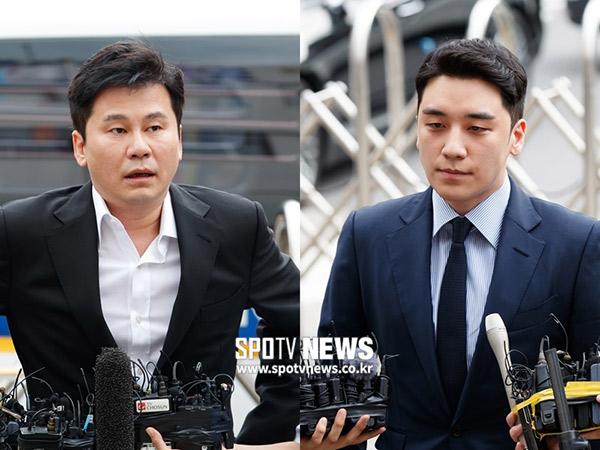 Kasus Judi Ilegal Seungri dan Yang Hyun Suk Masuki Babak Baru