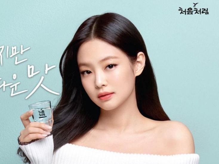Jennie BLACKPINK Jadi Model Baru Brand Soju, Gantikan Suzy