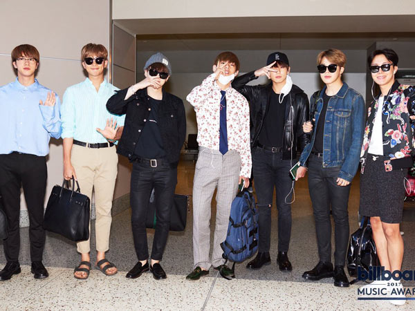 Intip Harga Airport Fashion BTS Menuju Acara 'Billboard Music Awards', So Fancy!