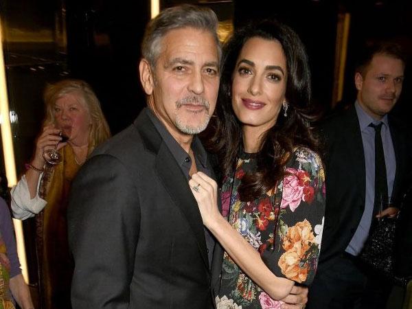 George Clooney Curhat Soal Bayi Kembar yang Tengah Dikandung Sang Istri