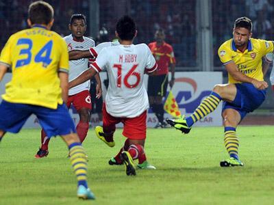 Indonesia Dikalahkan 7-0, Para Gunners Bergantian Dukung Arsenal dan Indonesia