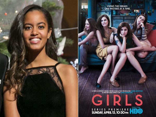 Malia Obama Jadi Anak Magang di Produksi Serial 'Girls'