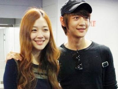 Minho SHINee dan Sulli Jalani Syuting Awal