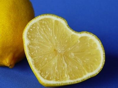 Wah Ada Lemon Cinta Bentuk Hati Dengan Rasa Manis Dan Asam!