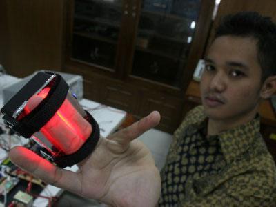 Mahasiswa Yogya Ciptakan Deteksi Pembuluh Darah Balita