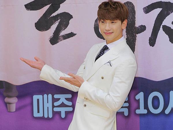 Kirim Makanan ke Lokasi Syuting 'Please Come Back, Mister', Fans Rain Tulis Pesan Lucu