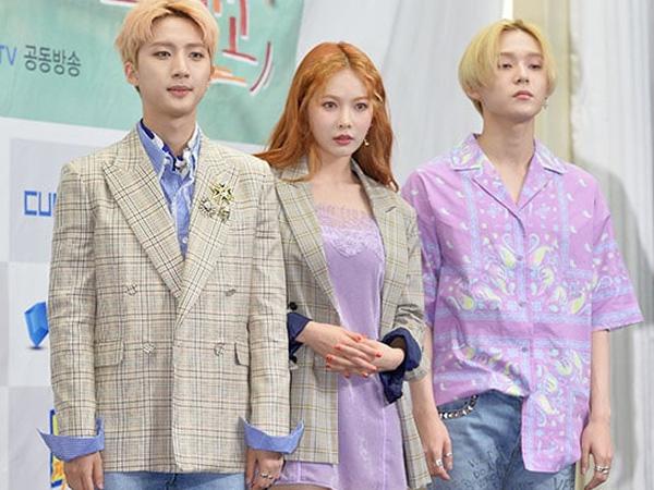 Bentuk Unit Baru Usai Trouble Maker, Ini Kesan Pertama HyunA dan Dua Member Pentagon