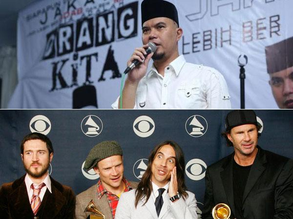 Jika Menang Pilkada Bekasi, Ahmad Dhani Undang Band Rock 'Red Hot Chili Peppers'!