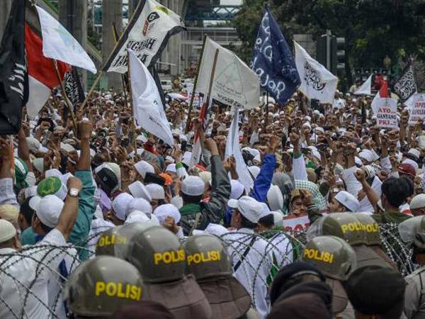 Polri Akui Dana Setahun Habis untuk Amankan Aksi Bela Islam