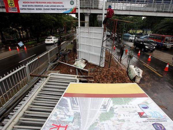 Proyek Jalan Layang Busway, Tendean - Ciledug Tidak Akan Ditutup