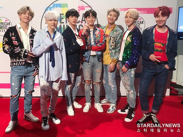 Reaksi Musisi Hingga Media Amerika untuk 'Hot Debut' BTS di Panggung 'AMAs 2017'