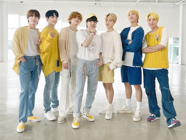 Harga Outfit BTS di Video Performance 'Butter'
