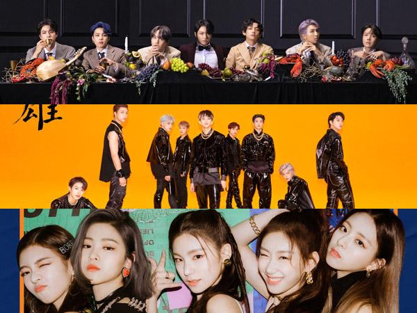 BTS Kembali No. 1, Inilah Idola K-Pop yang Tempati Chart Billboard World Albums