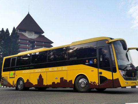 Bangga, Ini Dia Bus Listrik Hemat Energi Buatan Universitas Indonesia