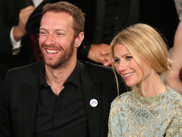 So Sweet! Chris Martin dan Gwyneth Paltrow 'Kencan' di Disneyland dengan Anak-anaknya