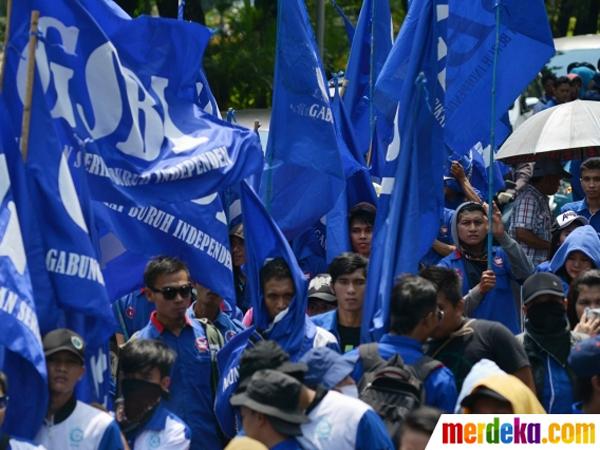1 September Ada Demo Buruh di Istana, Arus Lalu Lintas Dialihkan
