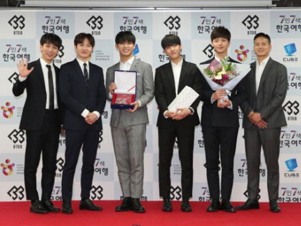 Tujuh Konten Utama yang Akan Dipromosikan BTOB sebagai Duta Kehormatan Pariwisata Korea