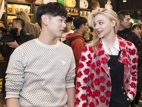 Seperti Adik Sendiri, Eric Nam Ungkap Kedekatannya Dengan Chloe Moretz