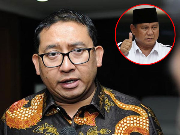 Fadli Zon Yakin Prabowo Menang Pemilihan Presiden Tahun 2019