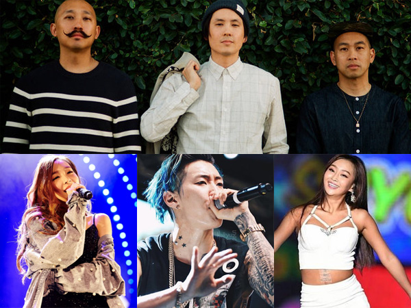 Selain Chanyeol, Idola K-Pop Ternama Lainnya Juga Terlibat di Album Far East Movement!