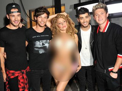 Lady Gaga : Semua Personil One Direction Cute!