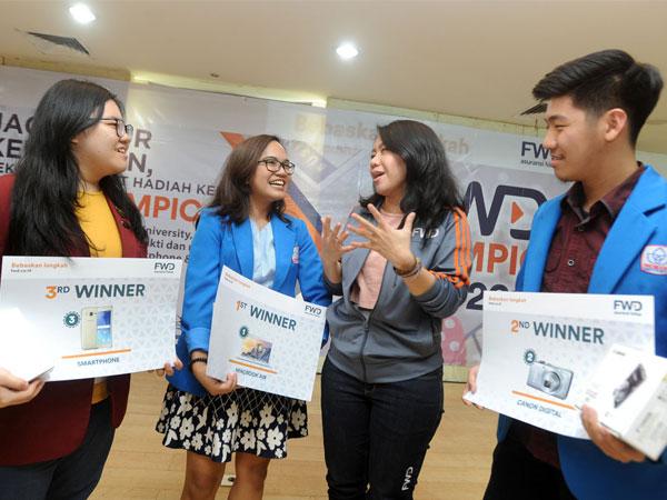 Selamat, Ini Dia Pemenang Macbook Air untuk Kompetisi FWD Olympic 2017!