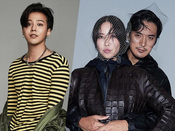 G-Dragon Kirimkan Dukungan ke Lokasi Syuting Film 'Kakak Ipar' Kim Min Joon