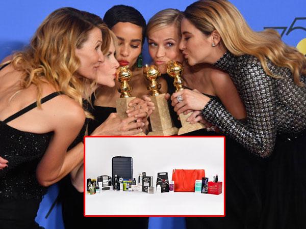 Mengintip Isi Goodie Bag Bintang Hollywood yang Hadir di Golden Globes 2018