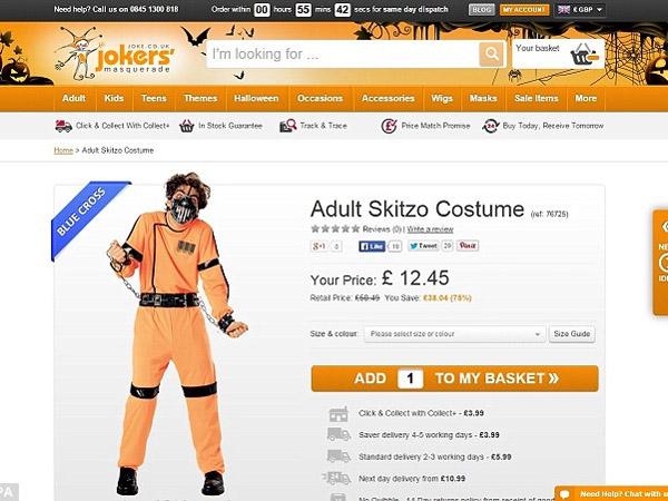 Jual Kostum Halloween Terlalu Ekstrim, Situs Jual-Beli Ini Dikecam!