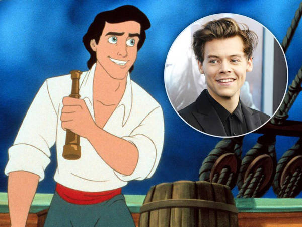 Harry Styles Bakal Perankan Pangeran Eric dalam Film Live Action 'The Little Mermaid'?