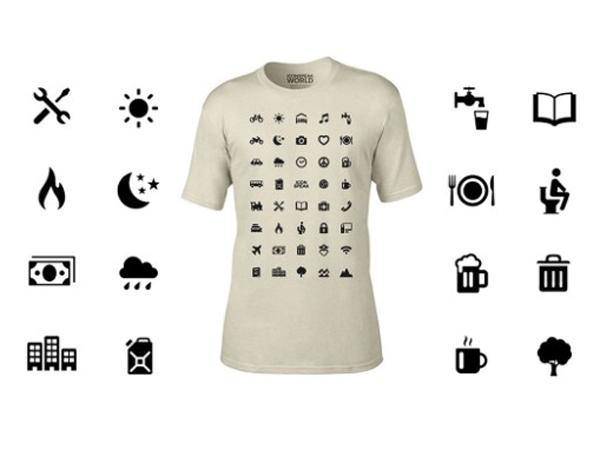Kreatif, Kaus Ini Bisa Bantu Traveler Bicara Berbagai Bahasa!