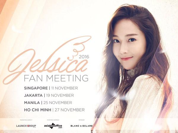 Rilis Poster Resmi, Agensi Konfirmasi Jumpa Fans Jessica Jung di Jakarta!