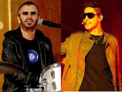 Sepanggung dengan Ringo Starr The Beatles, Nama Kim Hyun Joong Sukses Mendunia!