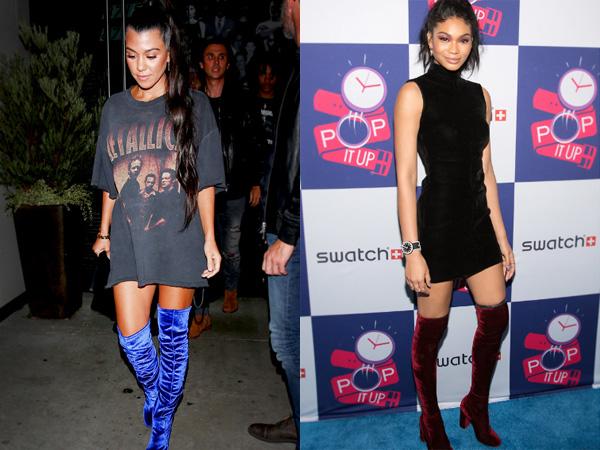 Intip Thigh-High Boots yang Jadi Favorit Seleb Hollywood di Musim Gugur