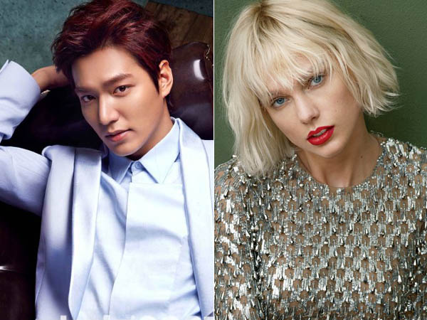 Jadi Hot Topic, Lee Min Ho Dirumorkan Pacaran dengan Taylor Swift?
