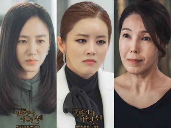 Profil 3 Aktris Utama Drama 'Love (ft. Marriage and Divorce)'