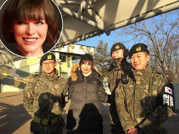 Promo Film 'Resident Evil', Serunya Milla Jovovich Berkunjung ke Zona Perbatasan Korea