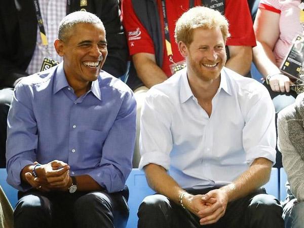 Ternyata Bisa Gugup, Kocaknya Pangeran Harry Saat Wawancarai Obama dengan Gaya British