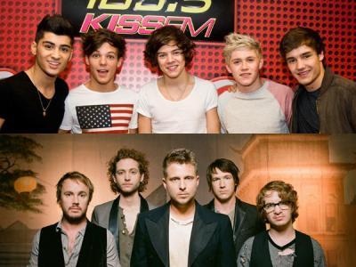 Bikin Lagu Bareng, One Direction dan One Republic akan Kolaborasi?