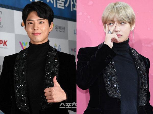 Brand Lokal, Intip Harga Fantastis Tuxedo Jacket Kembar Park Bo Gum dan V BTS