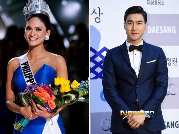 Ngefans Berat, Miss Universe 2015 Pia Wurtzbach Mengaku Sebagai Nyonya Siwon Super Junior!