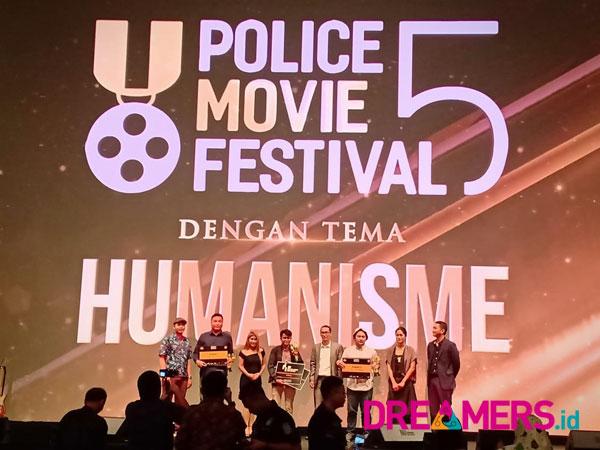 Momen Bintang hingga Film Pendek Berkualitas di Malam Puncak 'Police Movie Festival 5'