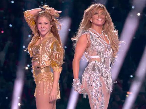 Penampilan Spektakuler Shakira dan J.Lo di Panggung Super Bowl 2020
