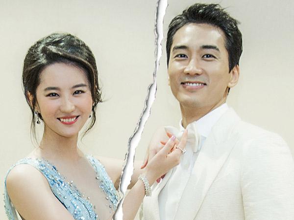 Song Seung Heon dan Aktris Tiongkok Liu Yi Fei Dikonfirmasi Putus!