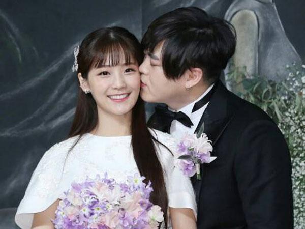 Mesranya Moon Hee Jun dan Soyul Crayon Pop Sapa Publik di Hari Pernikahan