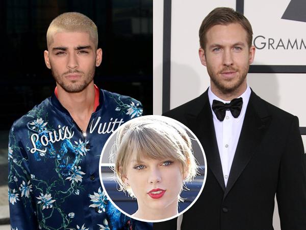 Zayn Malik dan Calvin Harris Ribut di Twitter Karena Taylor Swift