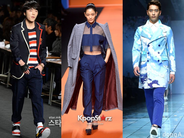 Inilah Para Idola K-Pop yang Melenggang di Runway Show Seoul Fashion Week S/S 2015